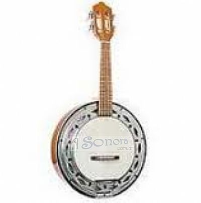 CAVACO BANJO GIANNINI NATURAL GBSC1 ELECTRIC
