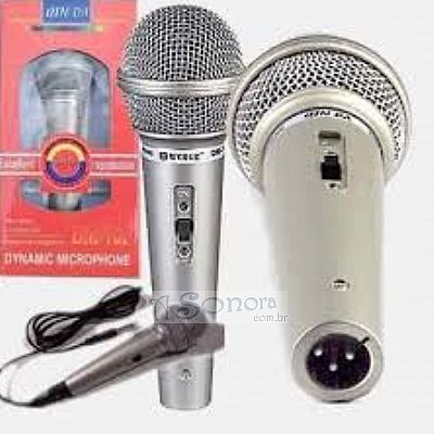WIRED MICROPHONE DM 701 MODEL SILVER