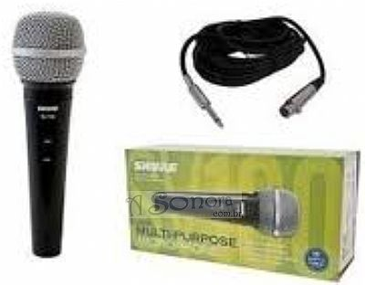 MICROPHONE SHURE SV 100 WITH 5 M CABLE