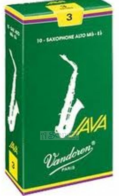VANDOREN JAVA REEDS FOR ALTO SAX (PER UNIT)