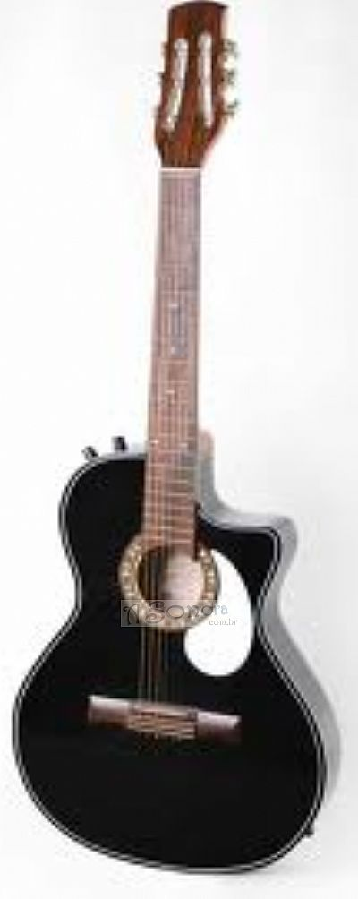 CLAVE ELECTRO ACOUSTIC GUITAR WITH BASS AND TREBLE ADJUSTMENT