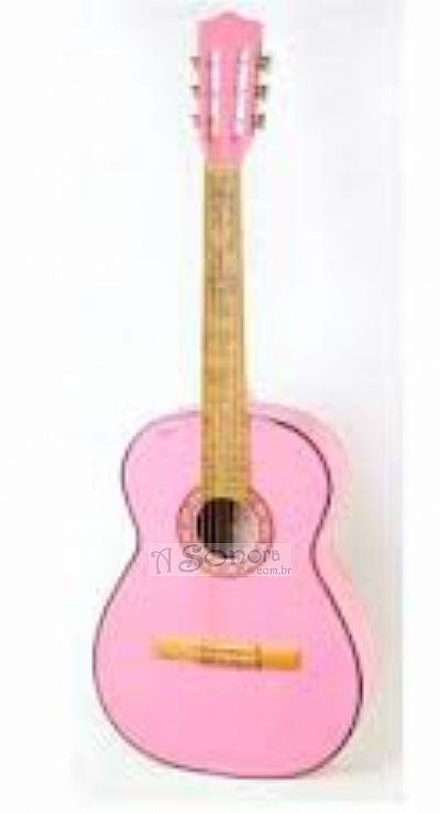 PINK NYLON GUITAR SOUND CLAVE