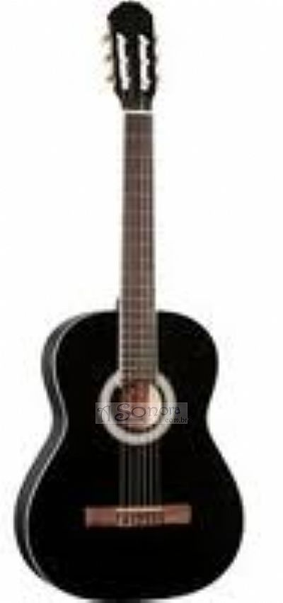 VIOLÃO ACÚSTICO SHELBY SN 60 BLACK FOR BEGINNER